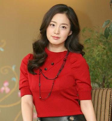 Artis-Artis korea  Tercantik 2014 Kim Tae Hee