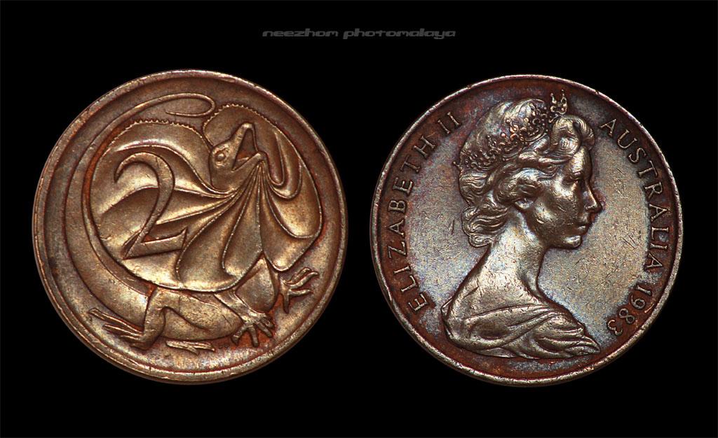 Australia 2 cents 1983 coin