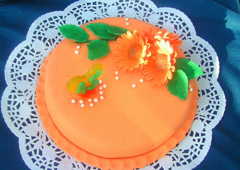Gerbera torta