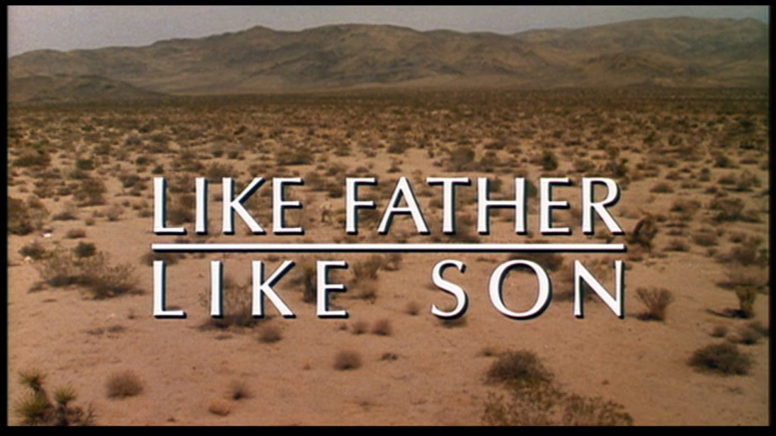 Movie Locations and More: Like Father, Like Son (1987)