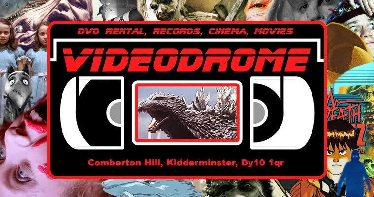 videodrome ltd  kidderminster, dvd rental, records, cinema, movies, comberton hill, Dy10 1qr
