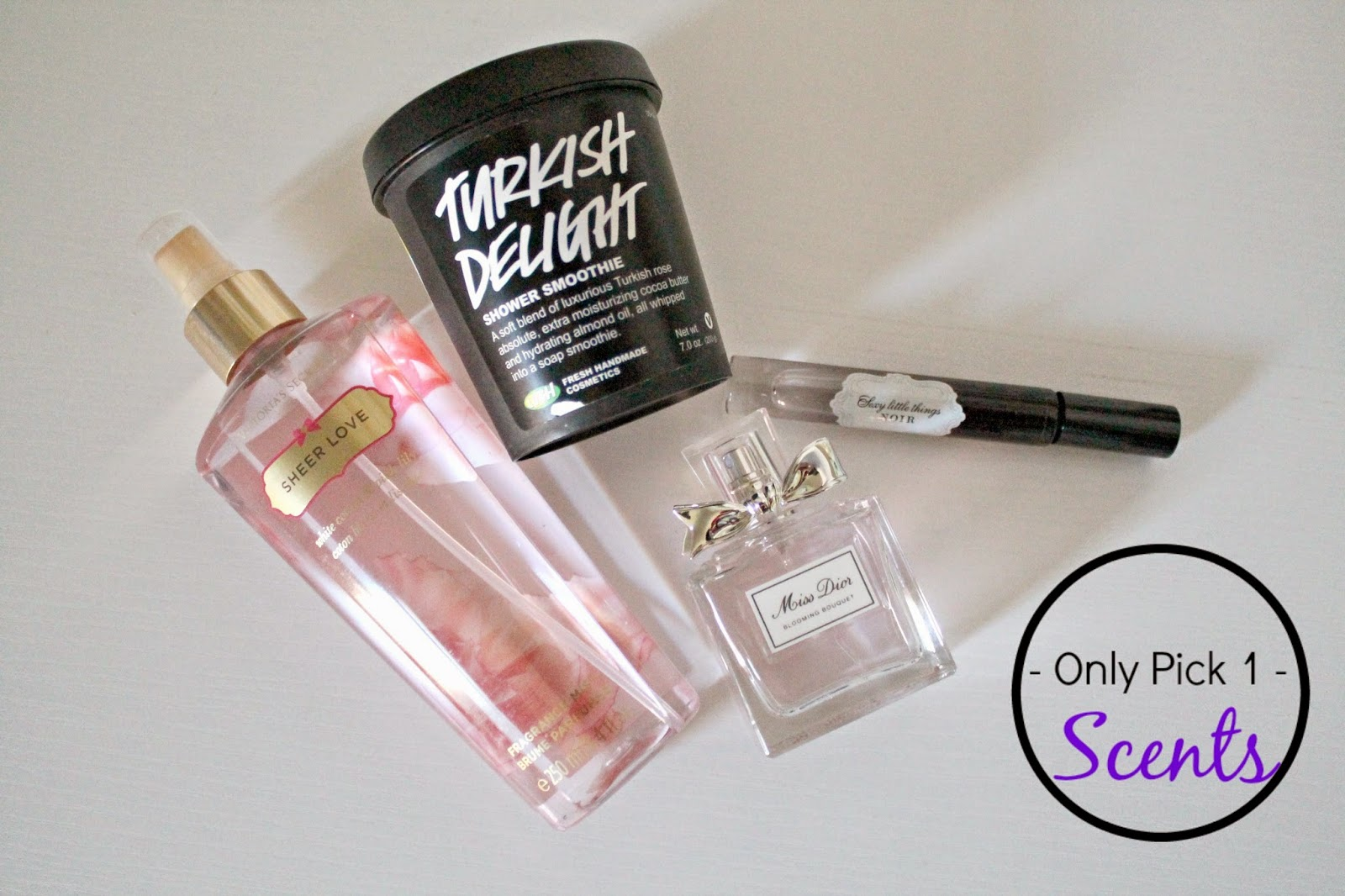 Favorite Scents 2014