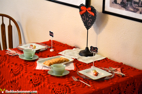 Flashback Summer: My Home Decor Goal - Valentine's Day Decor