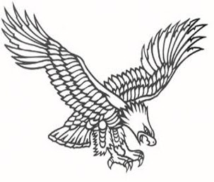 eagle tattoos, tattooing