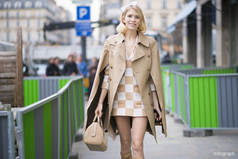 Elena Perminova After Louis Vuitton Paris Fashion Week 2013-2014 Fall Winter PFW