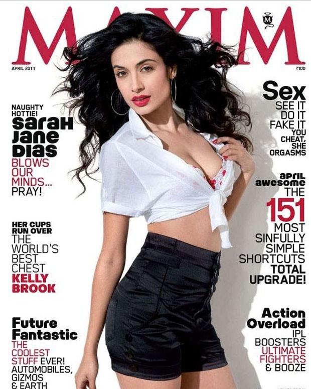 Sarah Jane Dias Hot Maxim Photo ShootSarah Jane Dias Hot Maxim