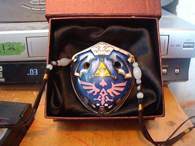Anything on ocarina ocarina styles my hylian shield pendantthis is a 6 hole english style pendant perfectly capable of performance playing find it here songbird ocarinas excellent mozeypictures Images