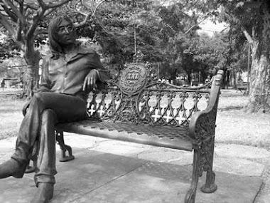 MONUMENTO A JOHN LENNON EM HAVANA/CUBA