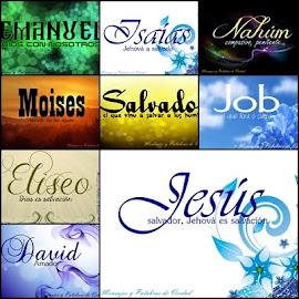 Nombres Biblicos de varón y su significado, en bellas imagenes.