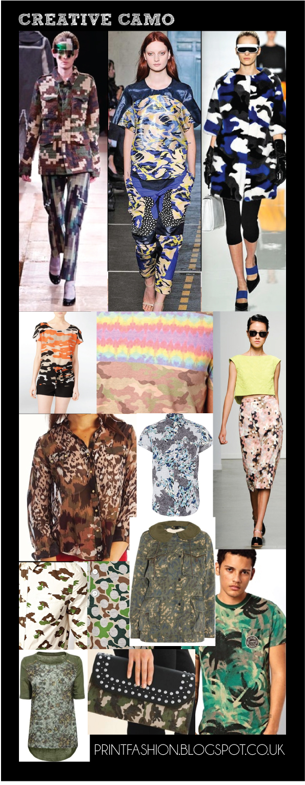 creative camouflage fashion