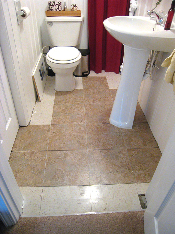 Yep I Totally Tiled 80 Of The Bathroom Before Realizing That Was Out Tiles And Those Needed Had Been Discontinued Months