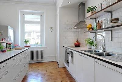 Decoração Do Projeto Da Cozinha