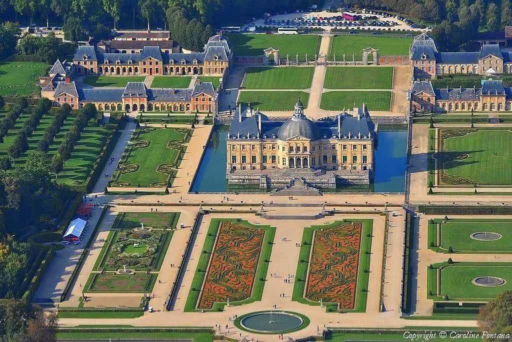 Vaux-le-Vicomte: uma das obras primas de jardinagem de Le Nôtre