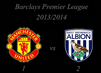 Manchester United vs West Bromwich Albion September 2013