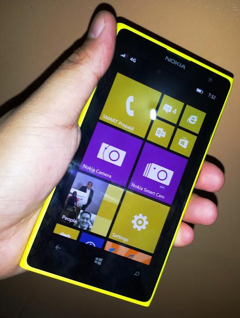 Smart LTE Nokia Lumia 1020