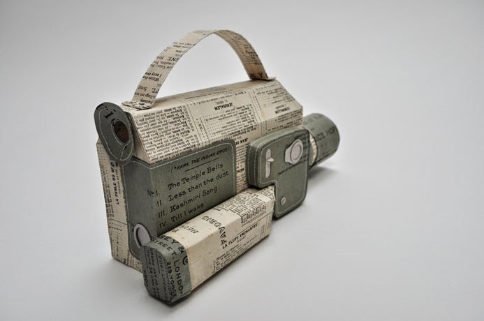 17-Video-Camera-2-Jennifer-Collier-Stitched-Paper-Sculptures-www-designstack-co