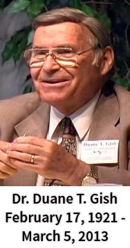 Dr. Duane T. Gish