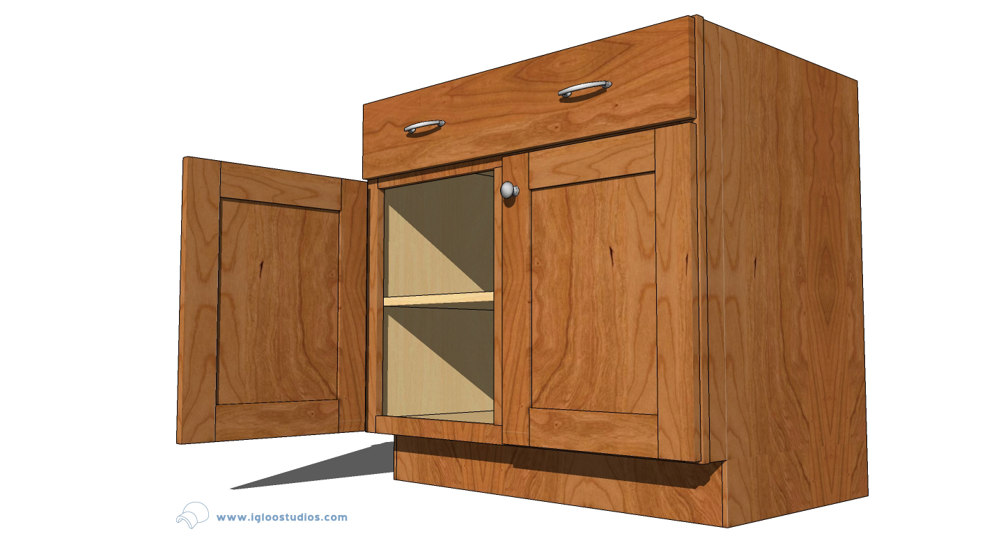 Igloo studios kraftmaid posts over 1000 cabinets to the for 3d kitchen cabinets