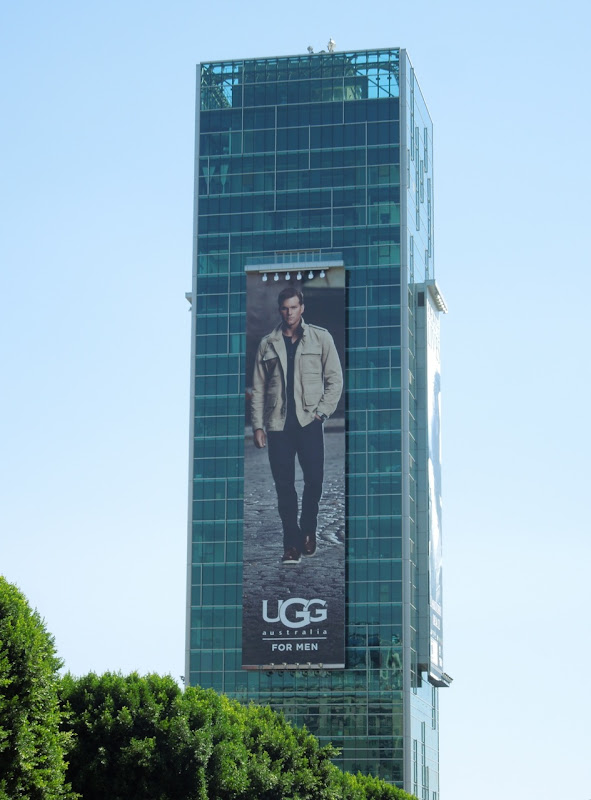 Giant UGG for Men FW 2012 billboard Hollywood
