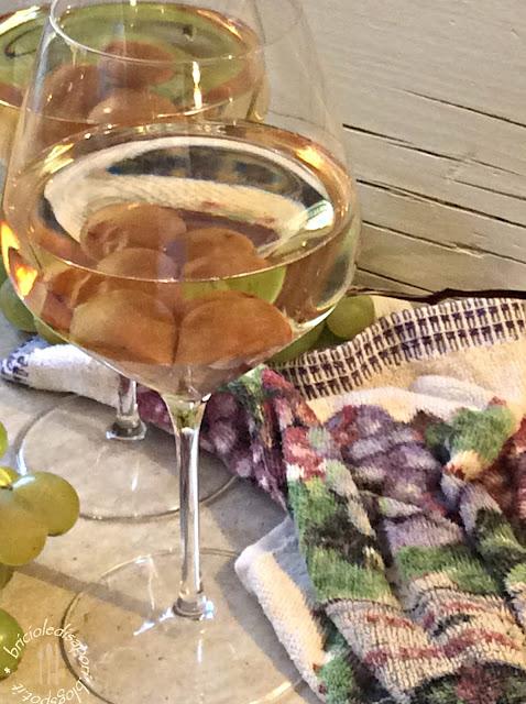 come mantenere fresco il vino bianco nel bicchiere