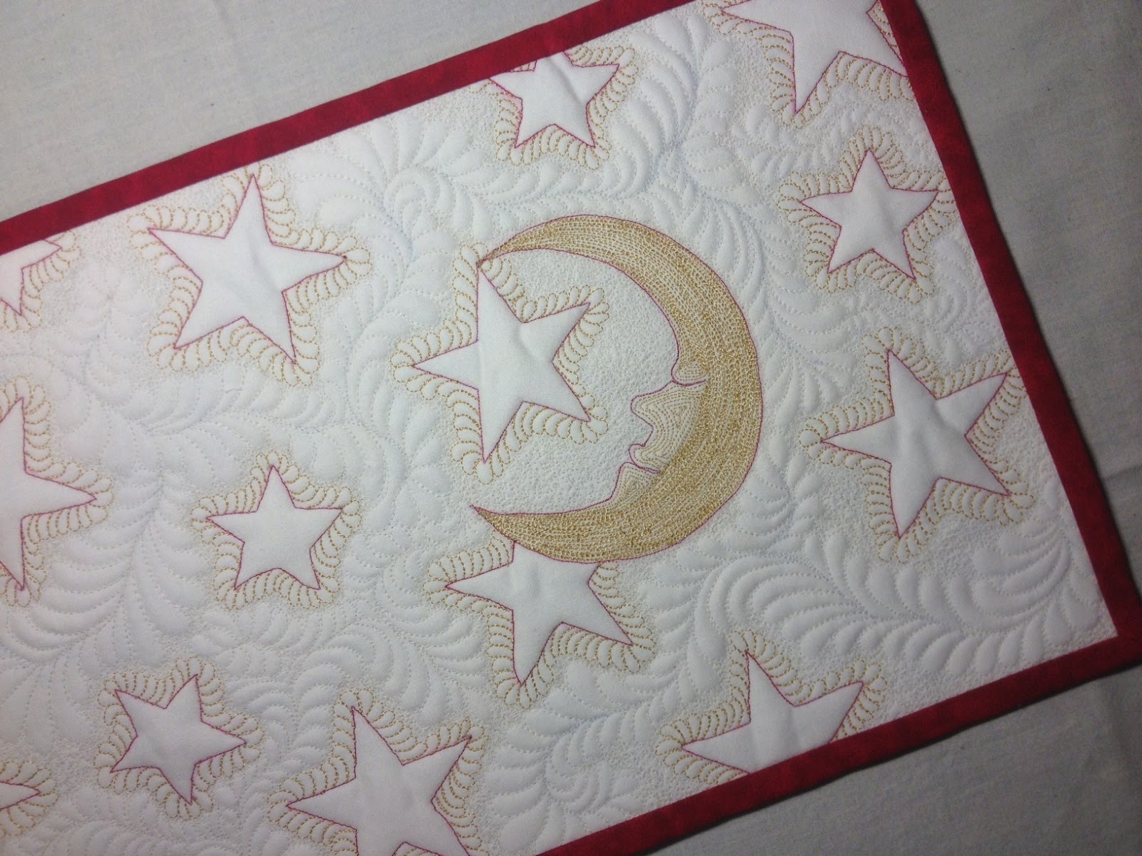 Janome Free Quilting Patterns : Living Water Quilter, LLC: Free Motion Quilting with the Janome 7700