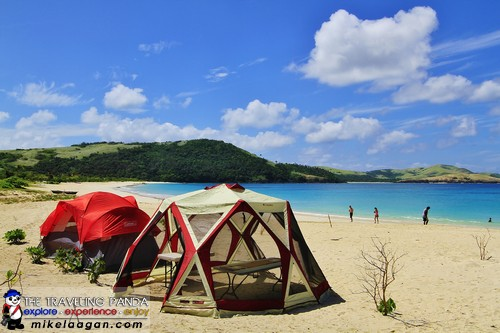 Coleman Tents at Calaguas