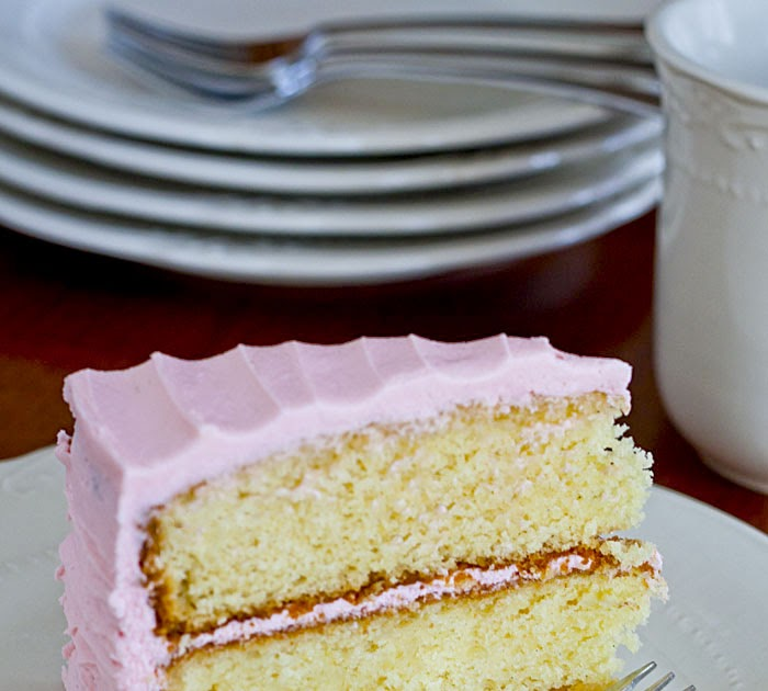 Lemon Drop: Vanilla Bean Cake with Vanilla Buttercream ...