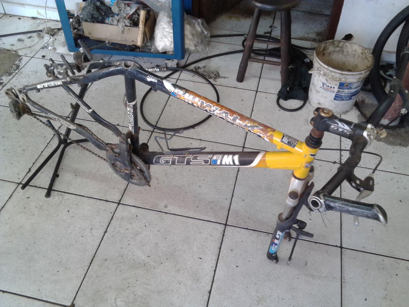 Quadro Mountain Bike GTS