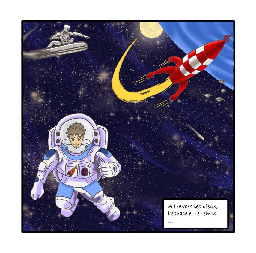 [7BD] Le mois de l'espace avec Juju Gribouille