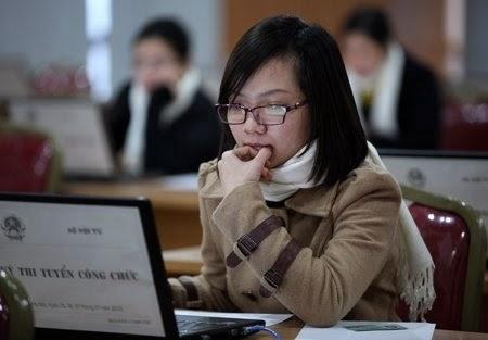 Trắc nghiệm tin học văn phòng thi công chức (Đề số 2)