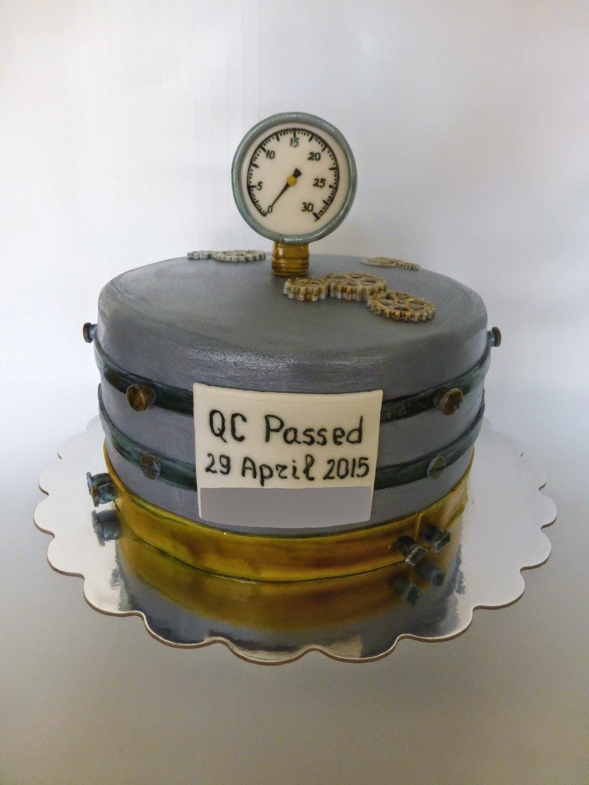 CakeSophia: A birthday cake for a mechanical engineer