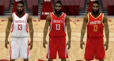 NBA 2K13 Houston Rockets 2013 Jersey Pack Patch