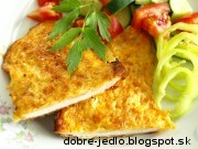 Zapečené kuracie prsia v syre a smotane - recept