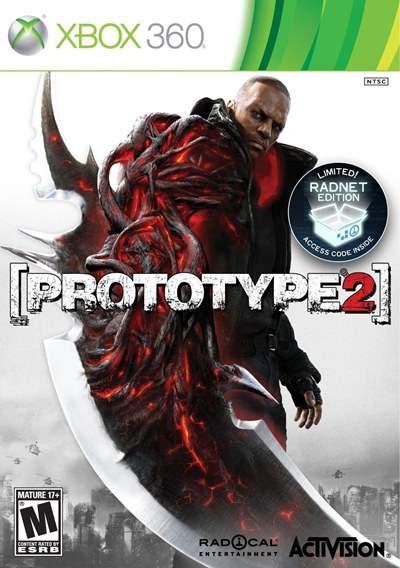 Prototype 2 Xbox 360 2012 Region Free Descargar DVD9