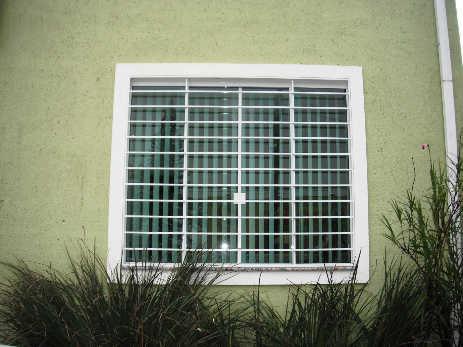 #787D4E Grade de Proteção para janela 142 Janelas De Vidro Grade