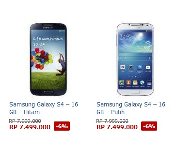 Discount coupons for samsung galaxy s4