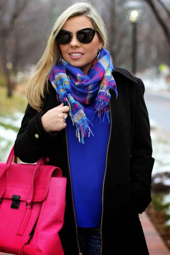 Colorful Winter Look of the Day