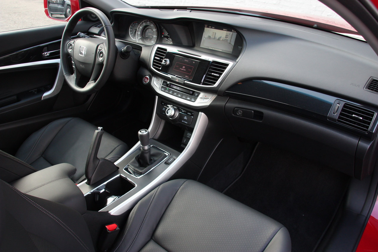 Honda Accord Coupe 2013 Interior Images & Pictures - Becuo
