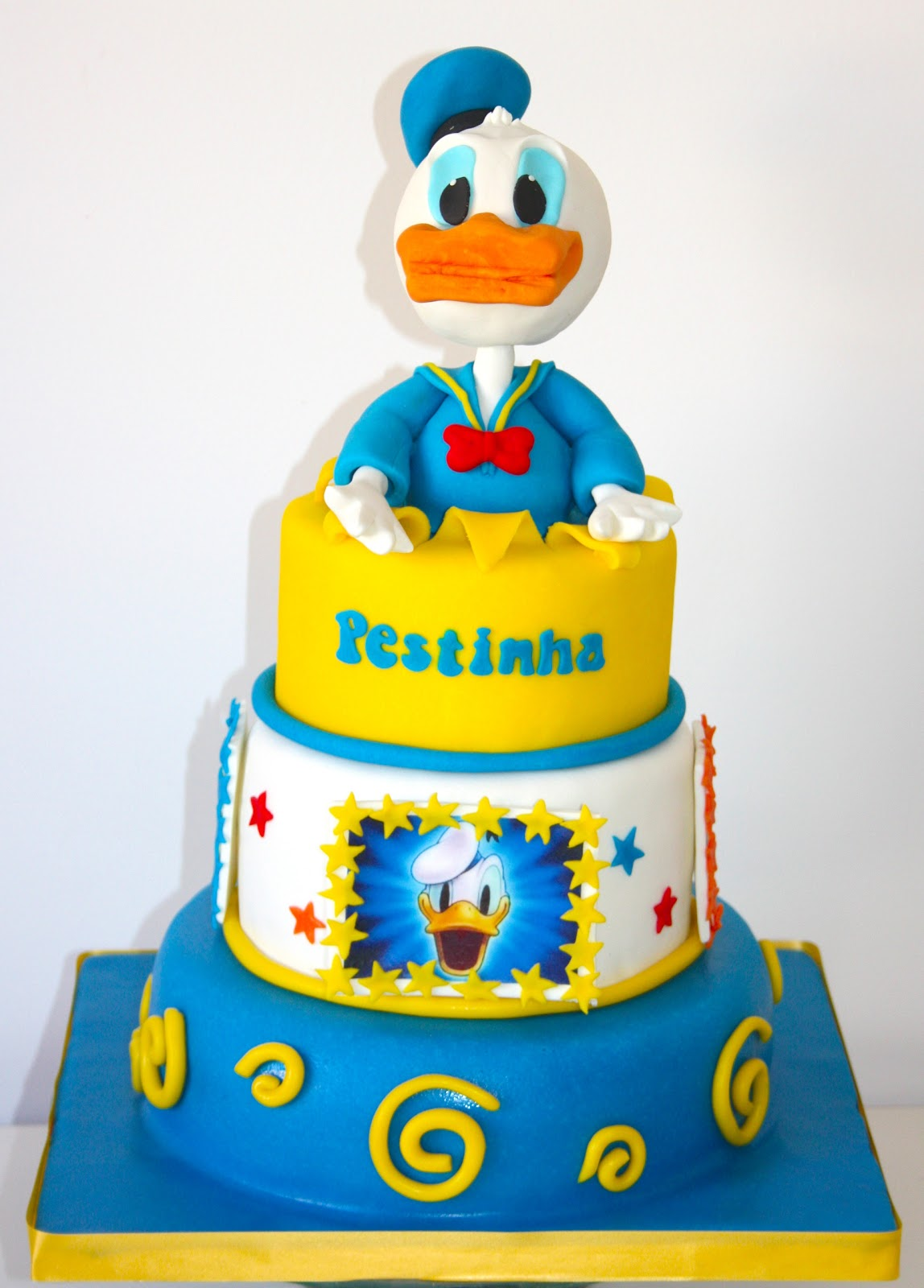 Donald Duck Wedding Cake Topper