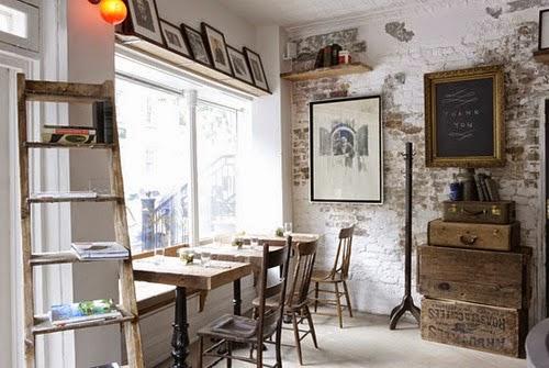 Pracownia i gabinet, jak urządzić, krawiecką, biurko, stół, scandinavian style, skandynawski,