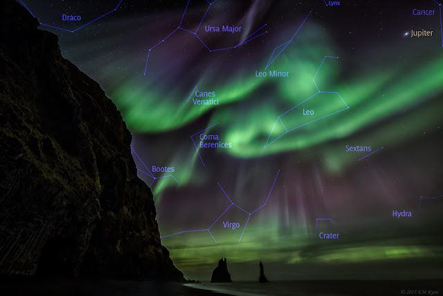Những huyền thoại đất Iceland và cực quang (hình có chú thích). Tác giả : Elizabeth M. Ryan; Chú thích : Judy Schmidt.