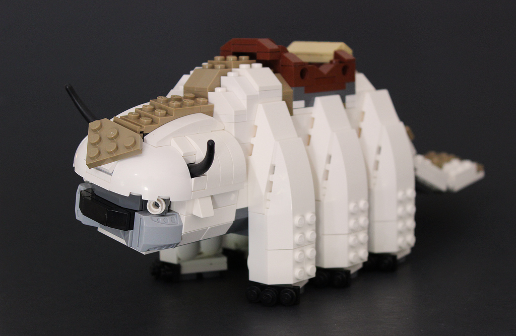 LEGO Form of Appa from Avatar: The Last Airbender