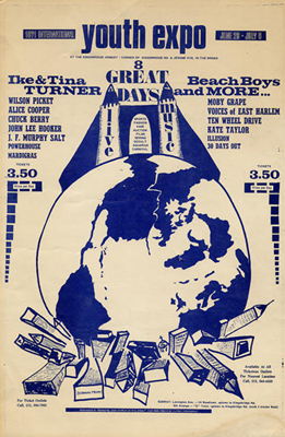 Youth Expo, Kingsbridge Armory, Bronx, New York June 1971