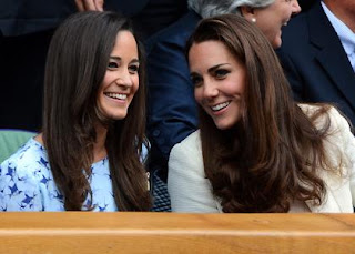 Kate & Pippa Middleton: Wimbledon Men's Final Royal Box Beauties » Gossip | Pippa Middleton