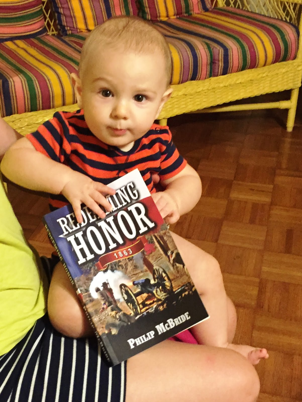 Grandson Hawking Granddad's New Novel