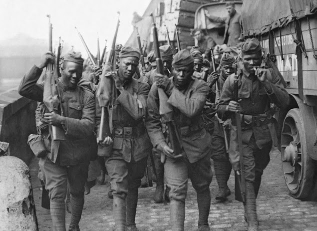 the contributions of the african americans in the american army during world war i