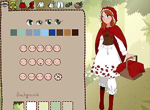 Vamos a vestir a la Caperucita Roja