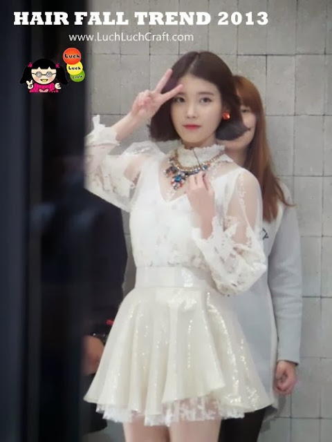 IU new hair 2014