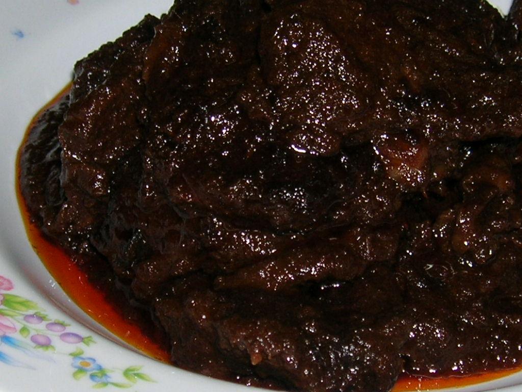 Daging Masak Hitam Mamak Daging Masak Hitam Ala Sarawak