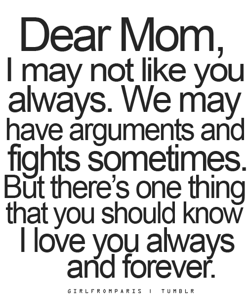 Love Mom Quotes Beauteous I Love My Mom Quotes Wallpapers
